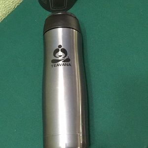 Teavana Grey  Contour Tumbler 16 oz  New